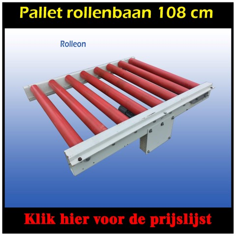 used rollerconveyor driven 145 cm