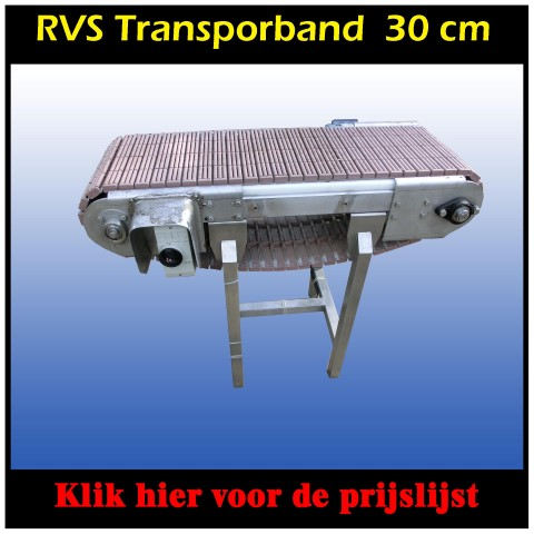 transportband rustless steel