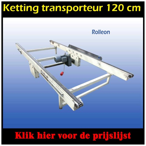 kettingtransporteur bolkpallets